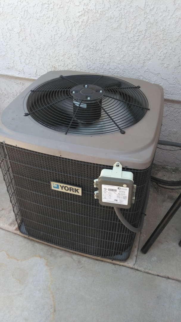 Installed new AC compressor to existing condenser