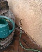 Repair copper line