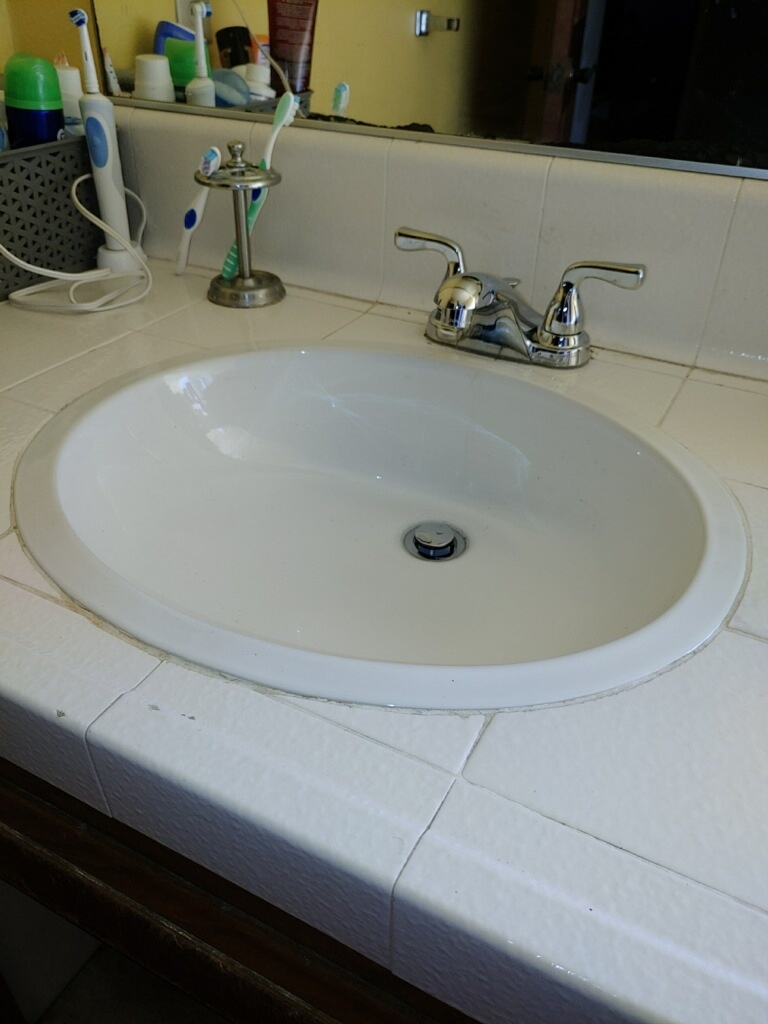 New Faucet Installation