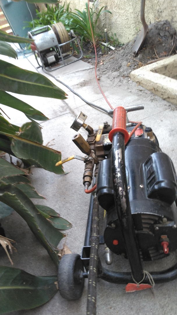 Hidro jetting drain for kitchen