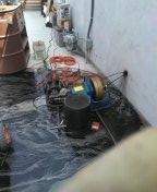Hydro jetter kitchen line laundry