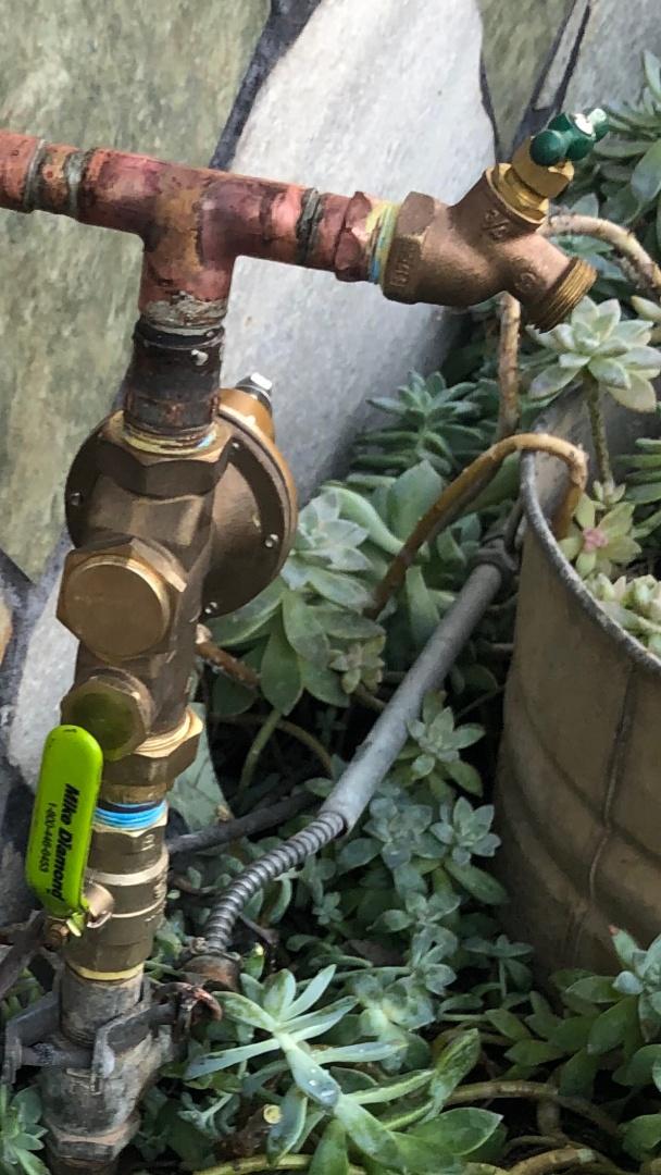 Pressure regulator and ball valve replacement