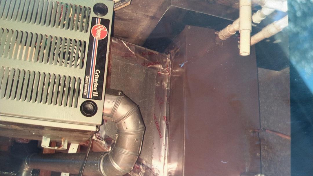 New blower motor, cleaned evaporator coil