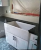 Kitchen sink repair