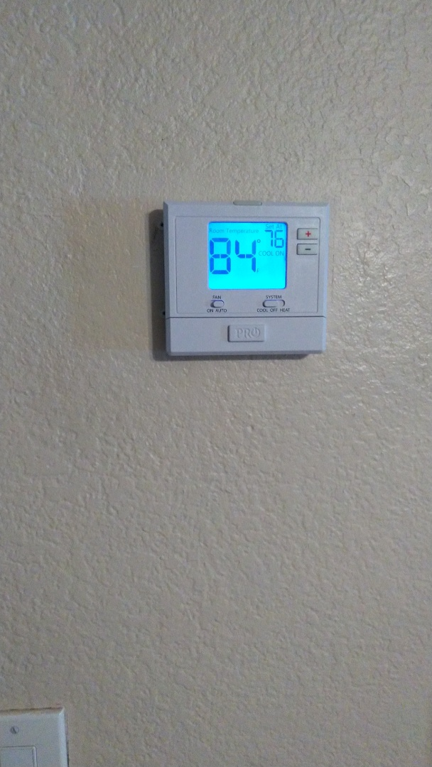 New thermostat installation