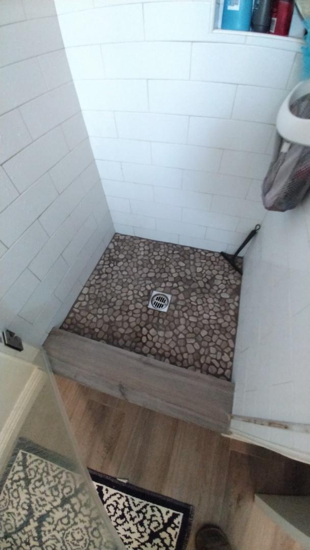 Shower stoppage