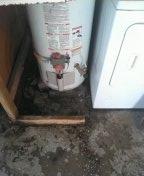 Westminster, CA - Water heater leak