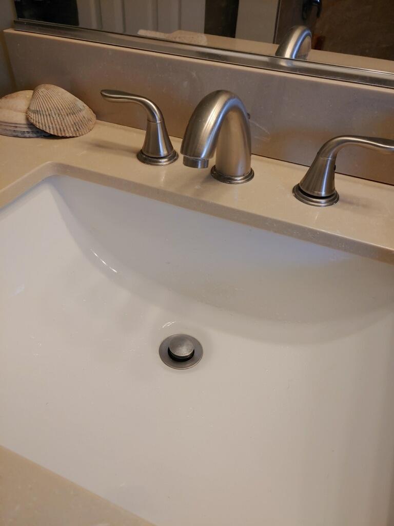 Bathroom Sink Drain Stoppage