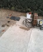Fountain Valley, CA - Mainline stoppage