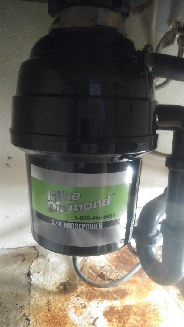 Pasadena, CA - Replaced 3/4 HP garbage disposal
