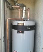 Carson, CA - Installed water heater