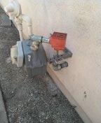 Carson, CA - Installed earthquake valve