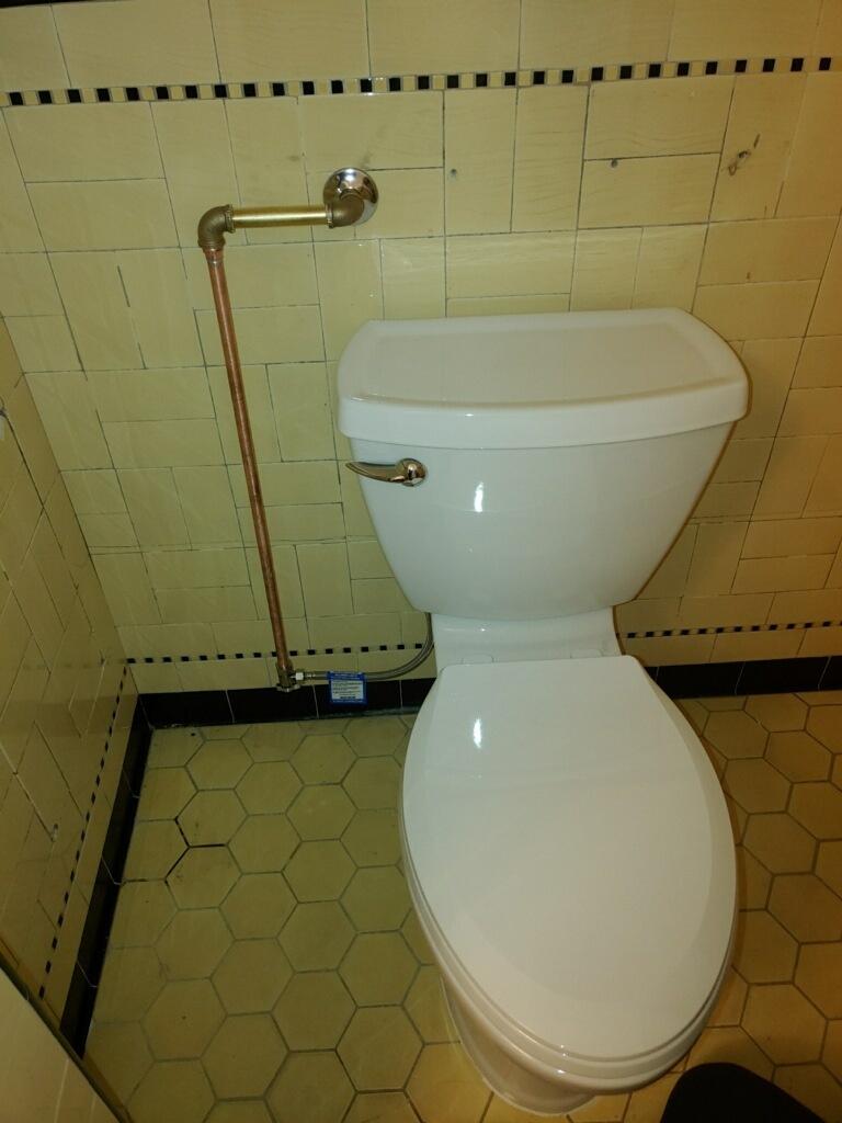 Long Beach, CA - Toilet Installation