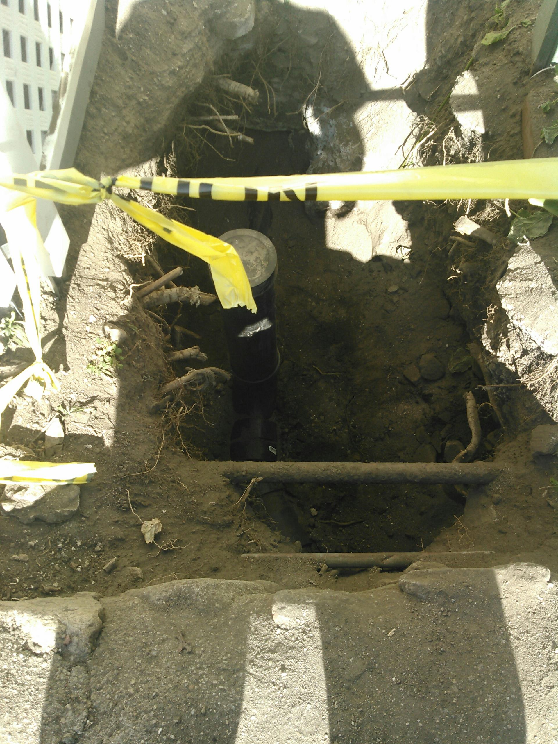 La Crescenta, CA - Sewer repair