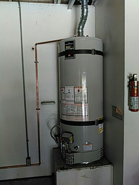 Rolling Hills Estates, CA - Installed 50 gallon water heater