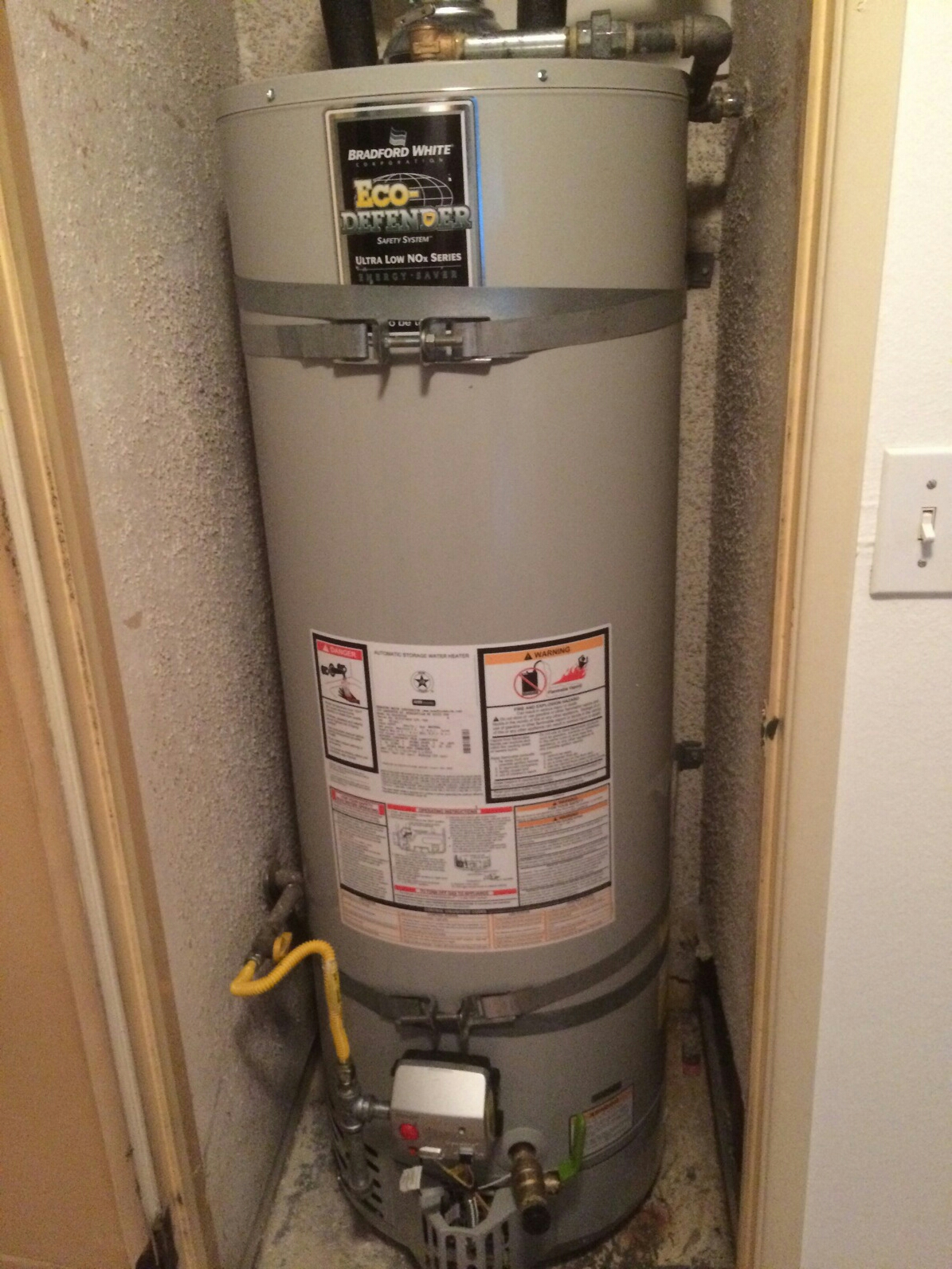 Newport Coast, CA - Changed water heater