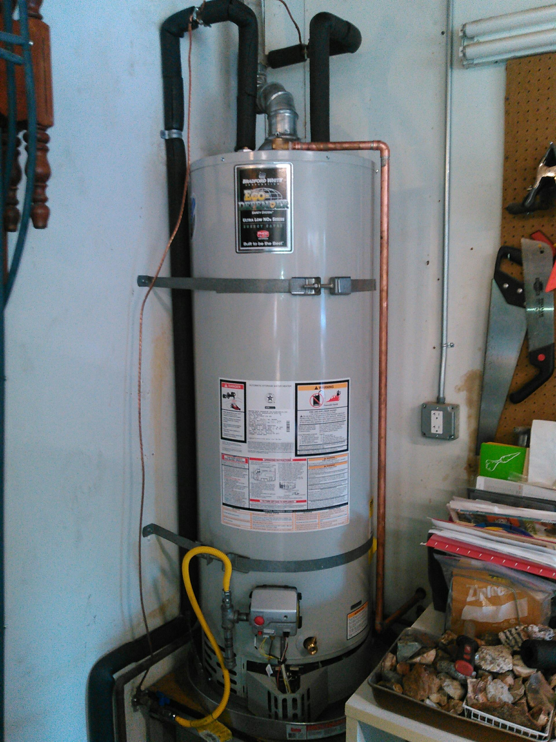 Rolling Hills Estates, CA - Water heater installed