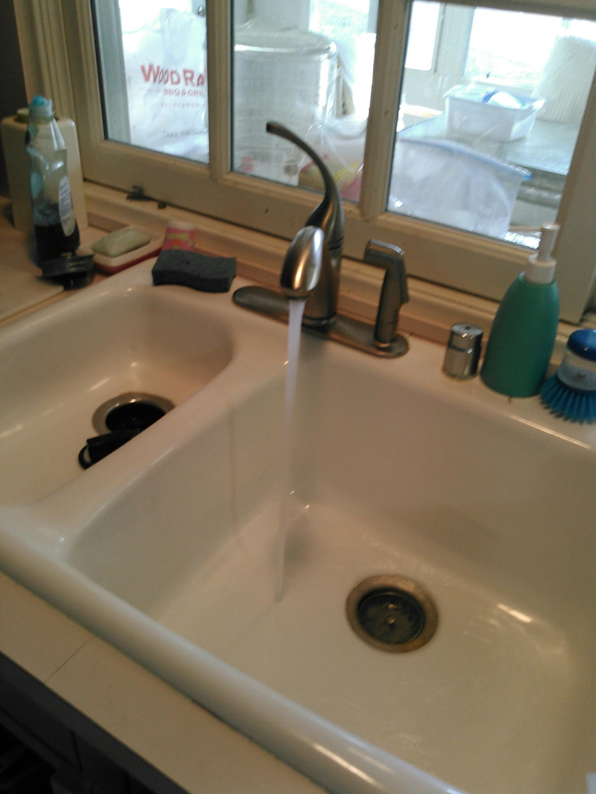 Tarzana, CA - Hydro jet kitchen sink