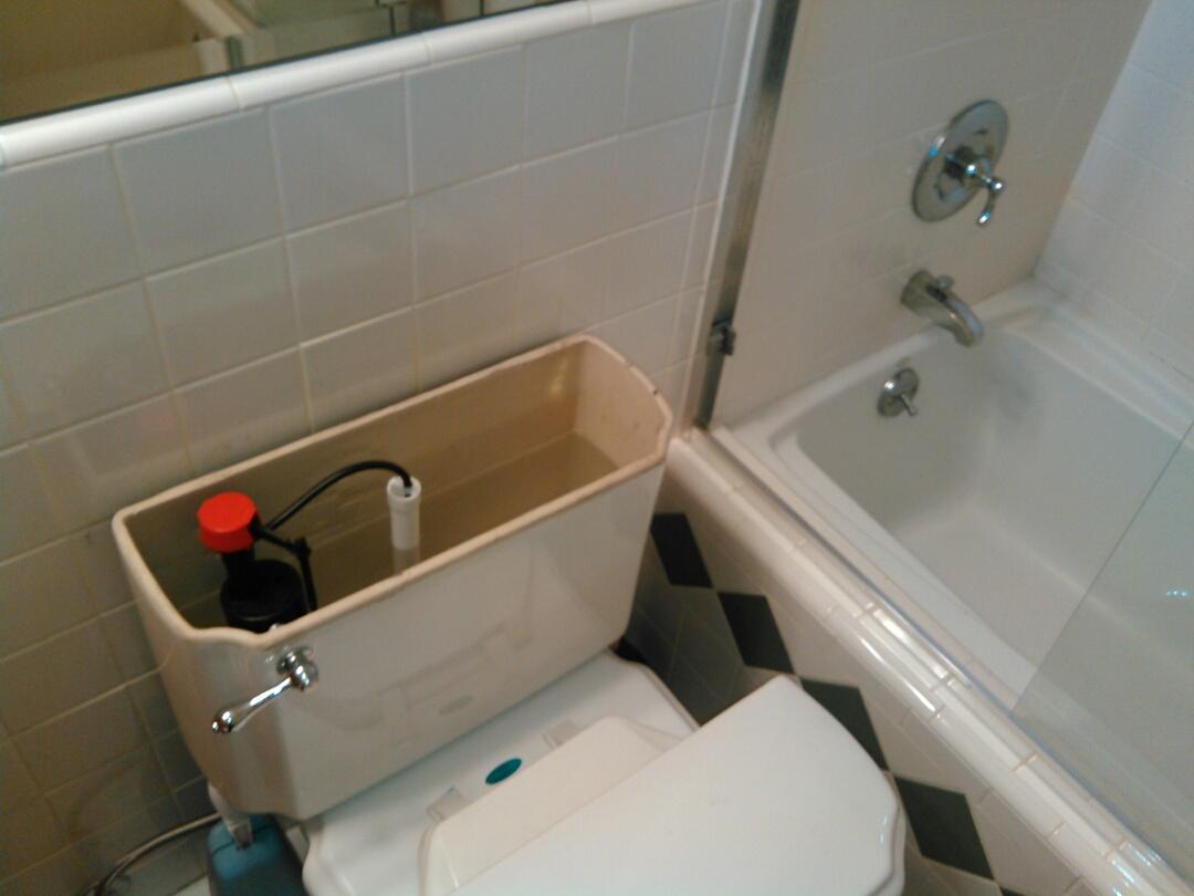 Northridge, CA - Toilet stoppage.