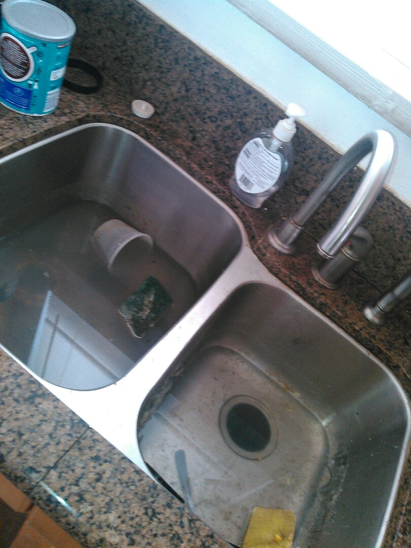 How To Get A Kitchen Sink Unclogged