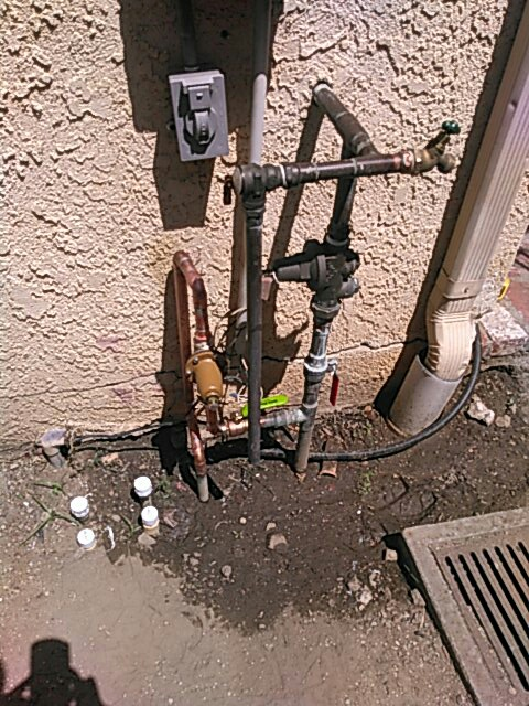 Los Angeles, CA - Sprinkler repair.