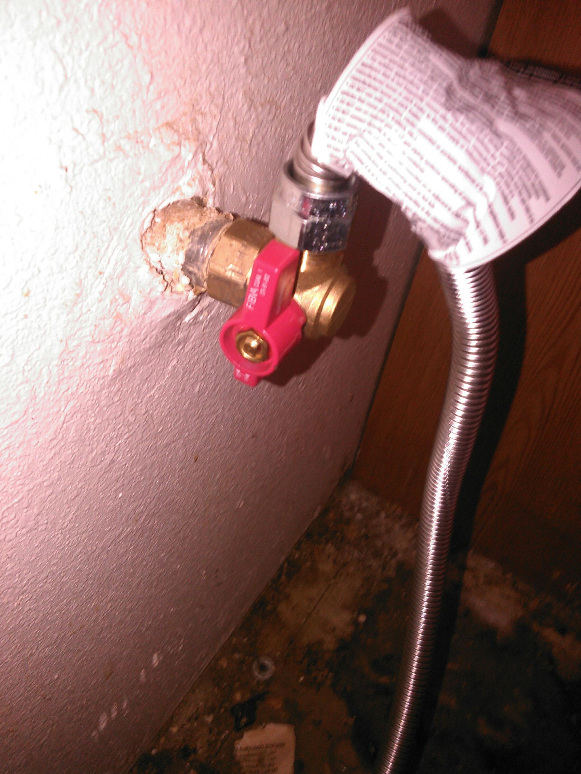 Norco, CA - Gas valve