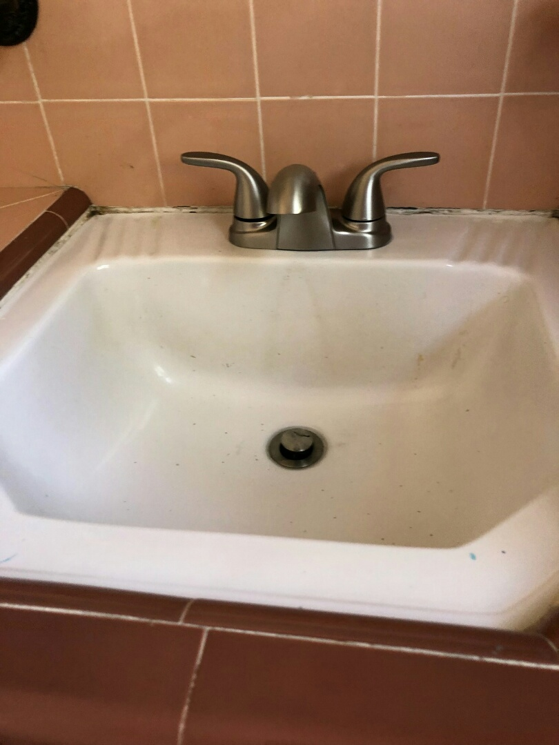 Los Angeles, CA - Installed a customer supplied faucet