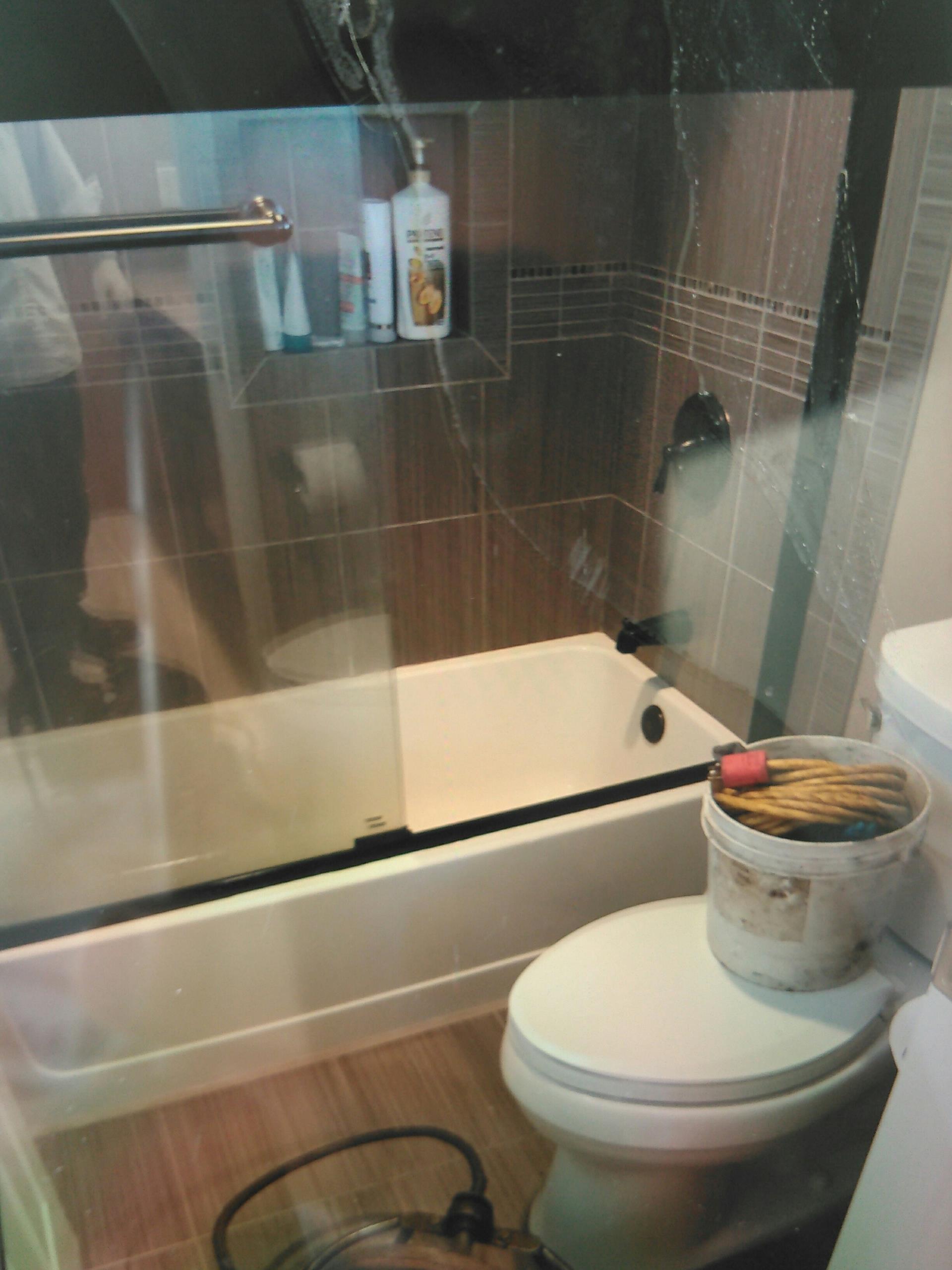 Chino, CA - Shower stoppage