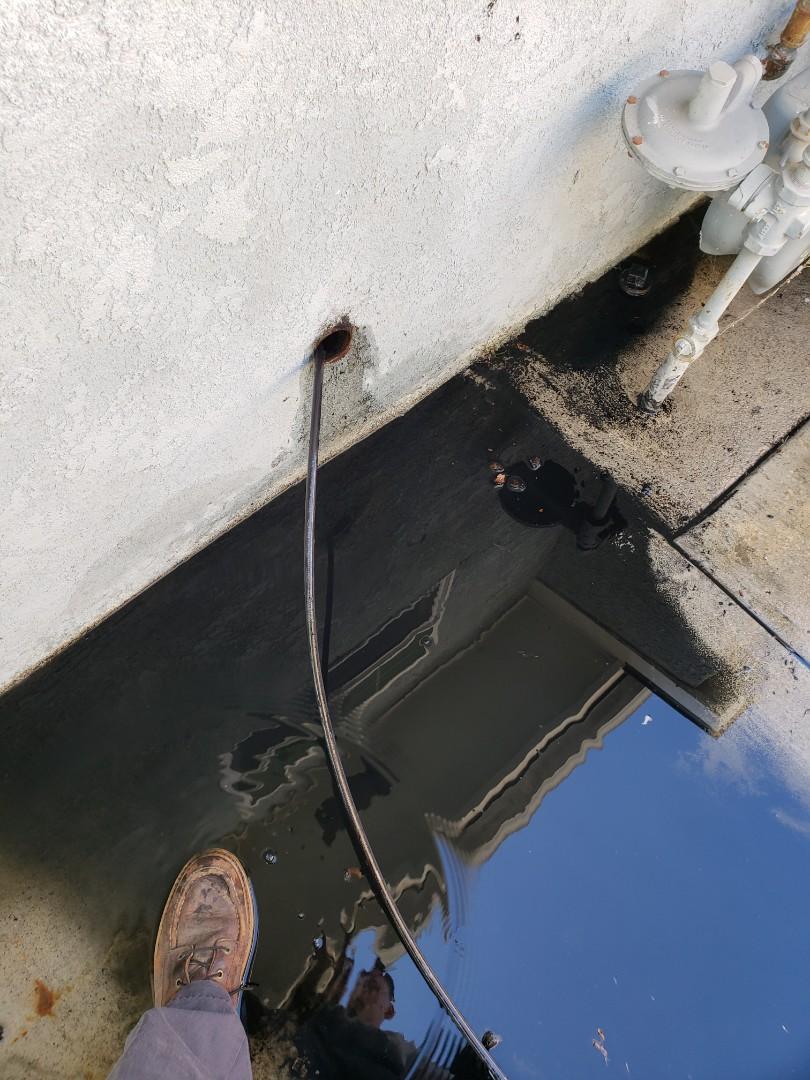 Norwalk, CA - Hydro jetted kitchen line
