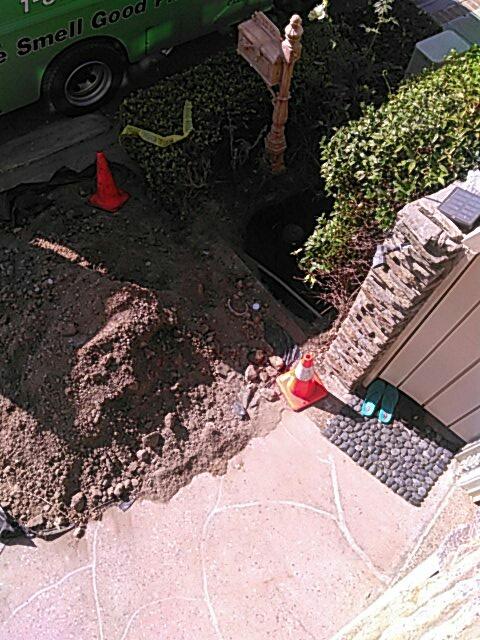 Laguna Beach, CA - Sewer repair