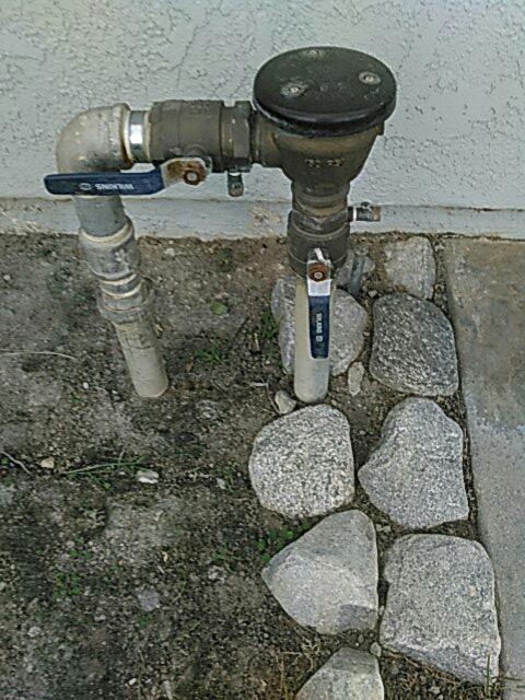 Duarte, CA - Backflow installation