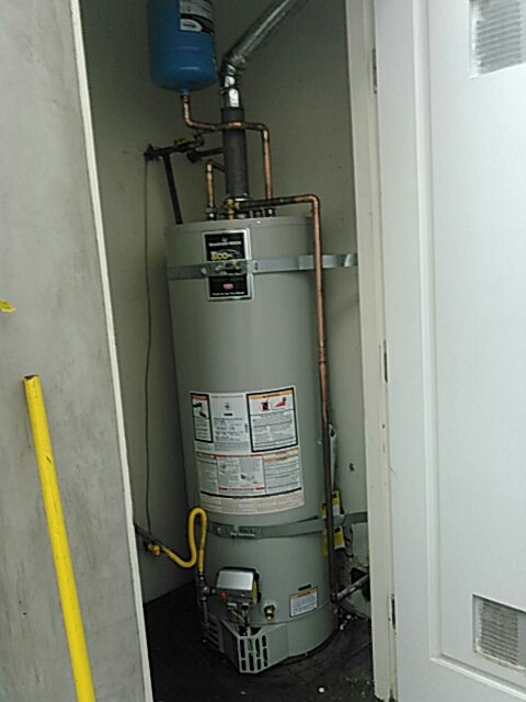 South Pasadena, CA - New water heater installed.