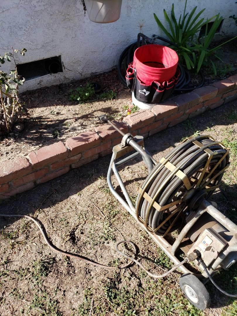 La Habra, CA - Cleared main sewer line