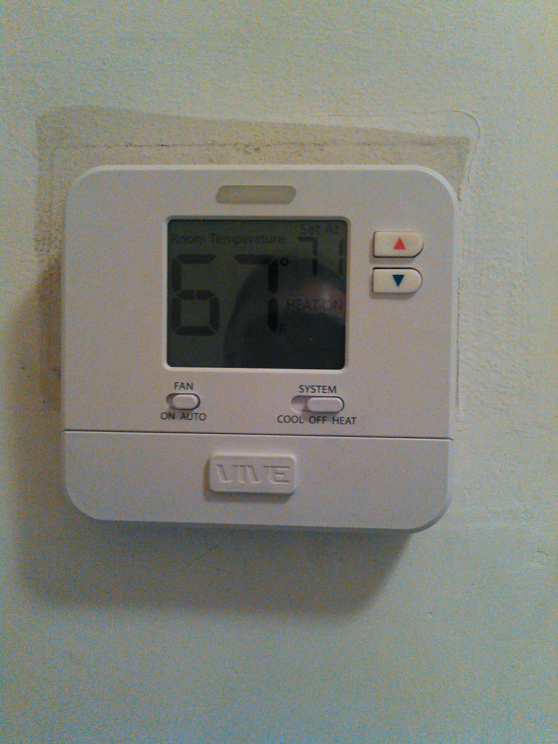 Baldwin Park, CA - Fix furnace and installed new thermostat
