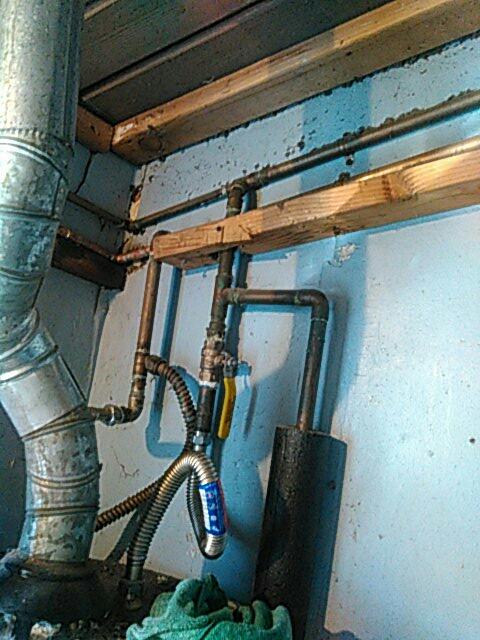 San Fernando, CA - Piping repair.