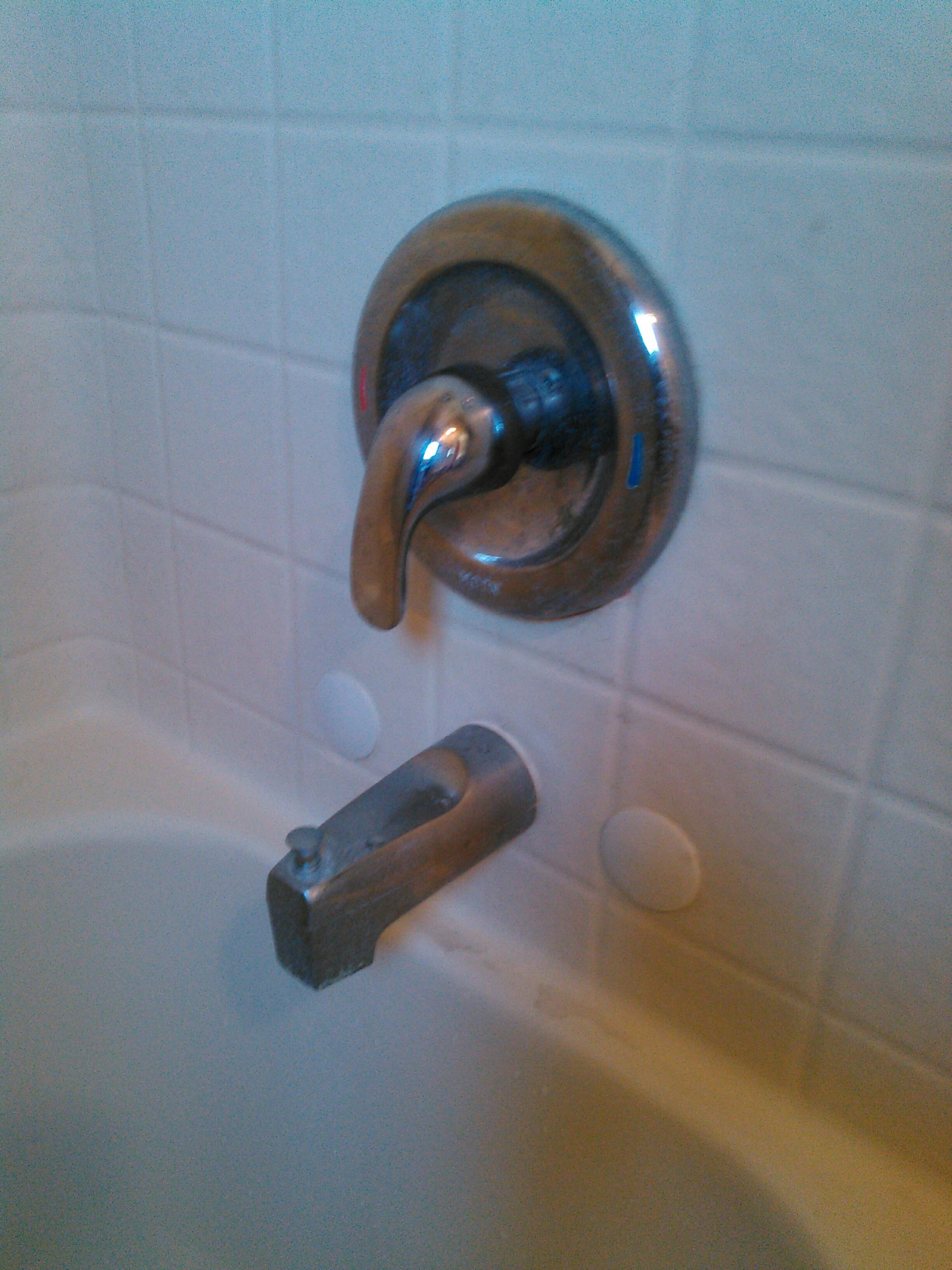 Topanga, CA - Moen shower valve repair.