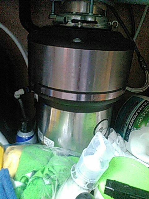San Marino, CA - Fixed garbage disposal.