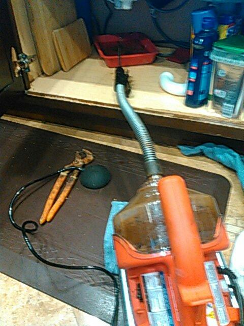 Agoura Hills, CA - Kitchen sink stoppage