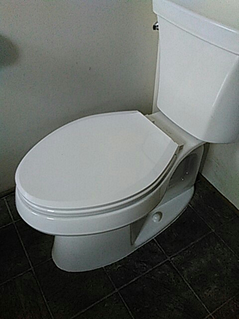 Gardena, CA - Installed toilet