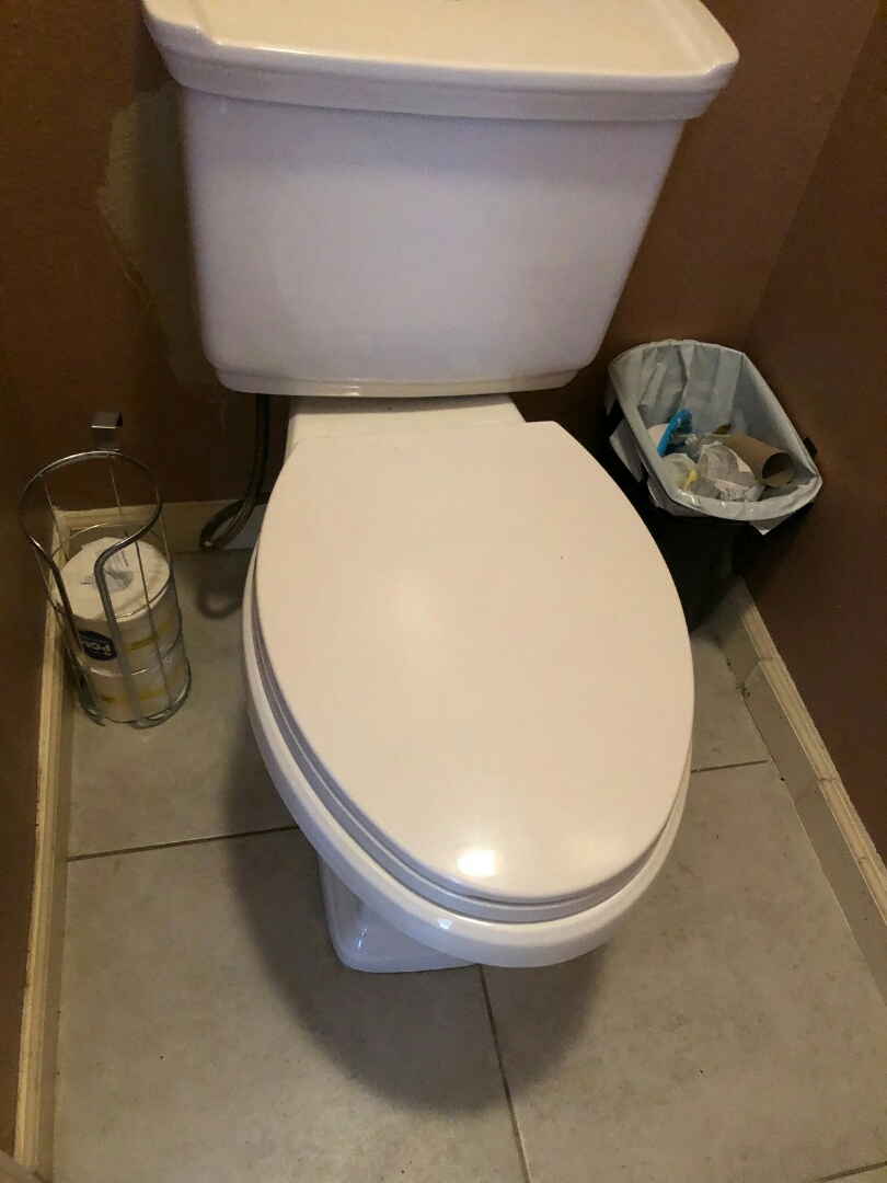 Alhambra, CA - Toilet clog and wax seal replaced