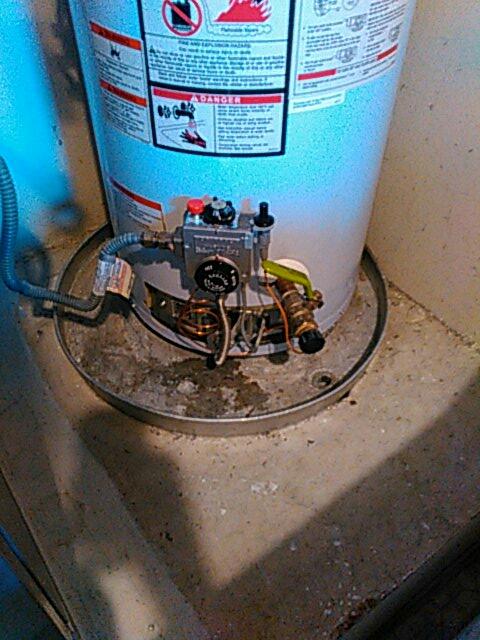 Costa Mesa, CA - Repaired water heater