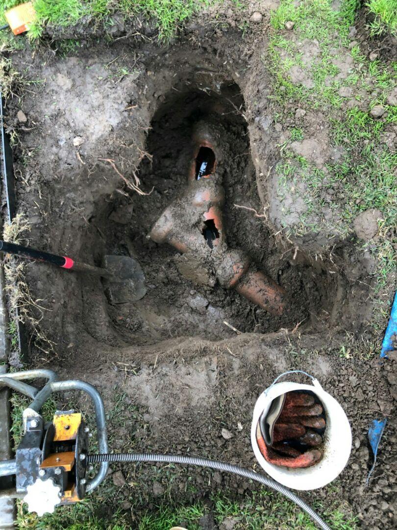 Alhambra, CA - Main sewer repair