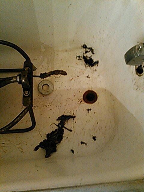 Ontario, CA - Shower stoppage