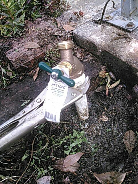 Claremont, CA - Hose bibb repair