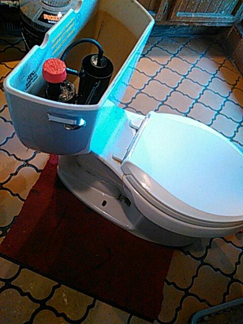 Claremont, CA - Toilet reset