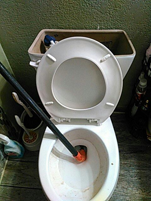 Ontario, CA - Toilet stoppage
