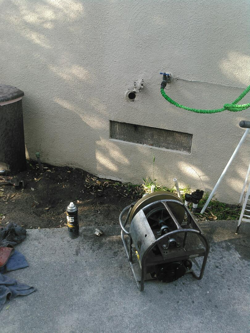 Glendale, CA - Uccluged drain for kitchen sink