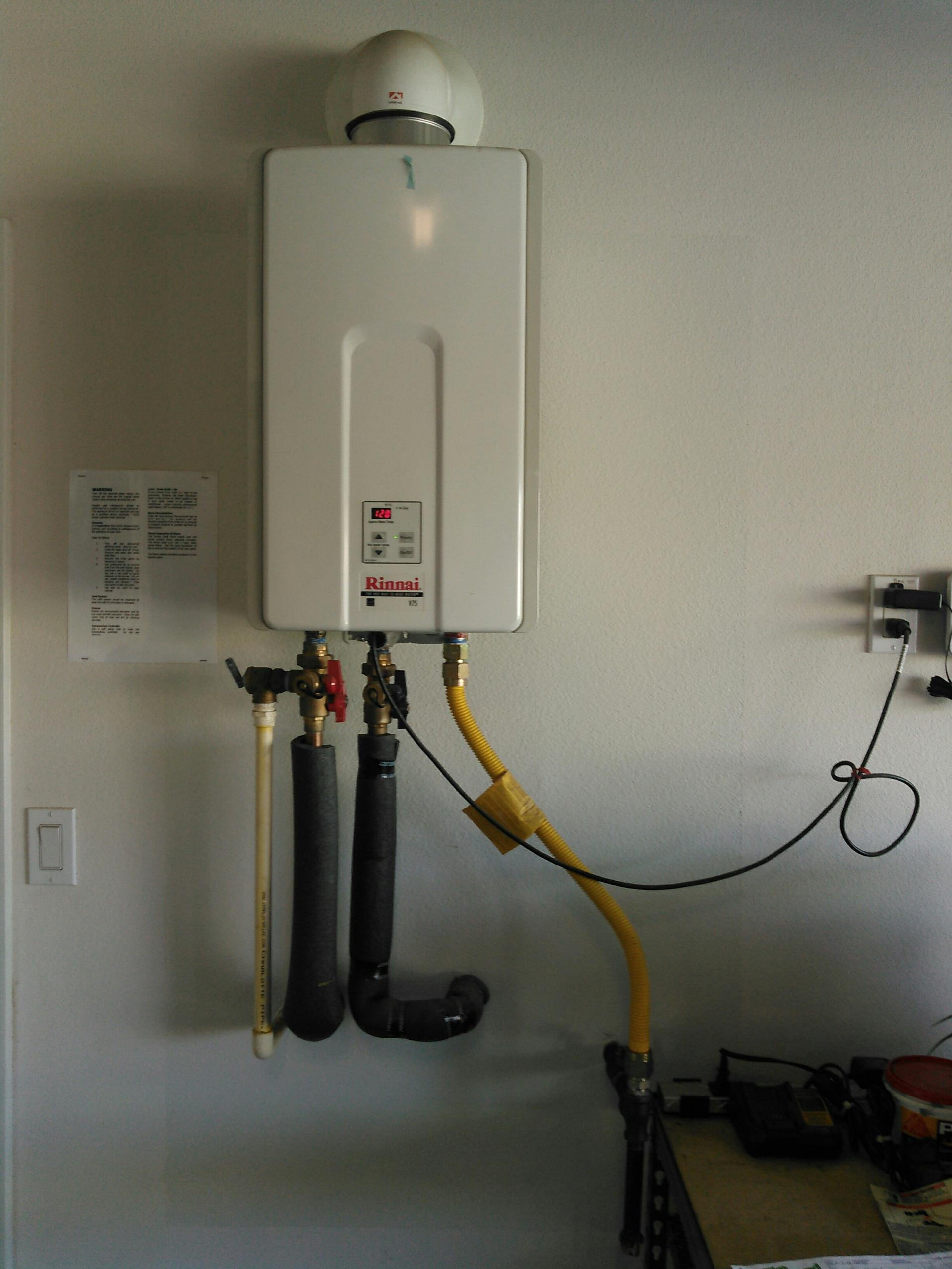 Ontario, CA - Service call for tanklass water heater