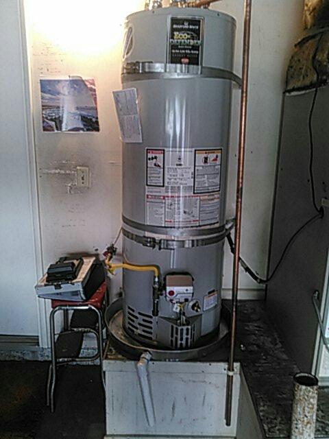 Tustin, CA - Water heater instal