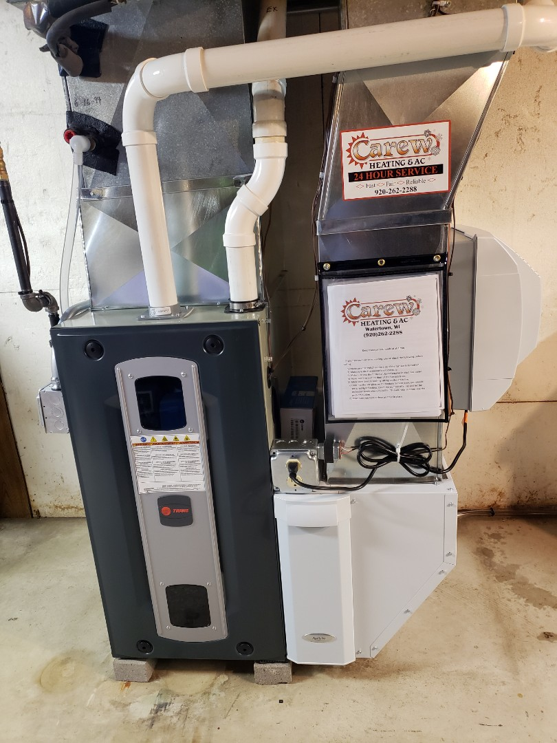 Watertown, WI - New Trane furnace and Aprilaire humidifier install